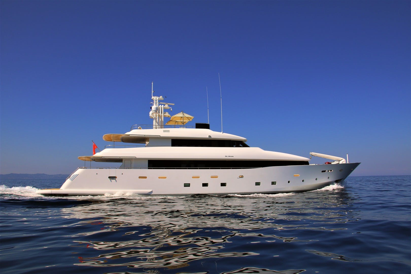 2012 Custom 138' Avangard Expedition Yacht MR MOUSE | Picture 1 of 35