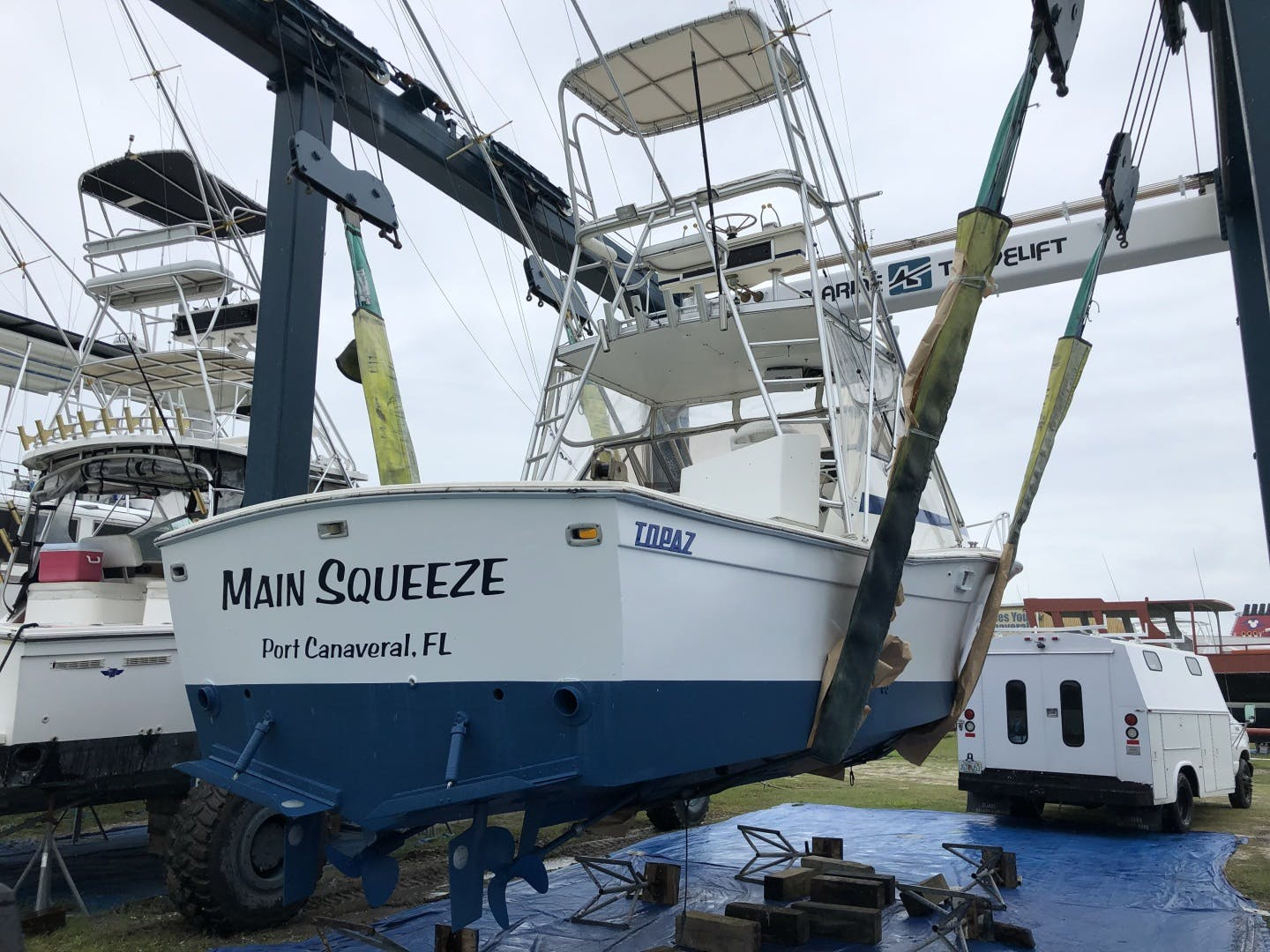 1987 Topaz 29' Express Sportfish Main Squeeze | Picture 8 of 14