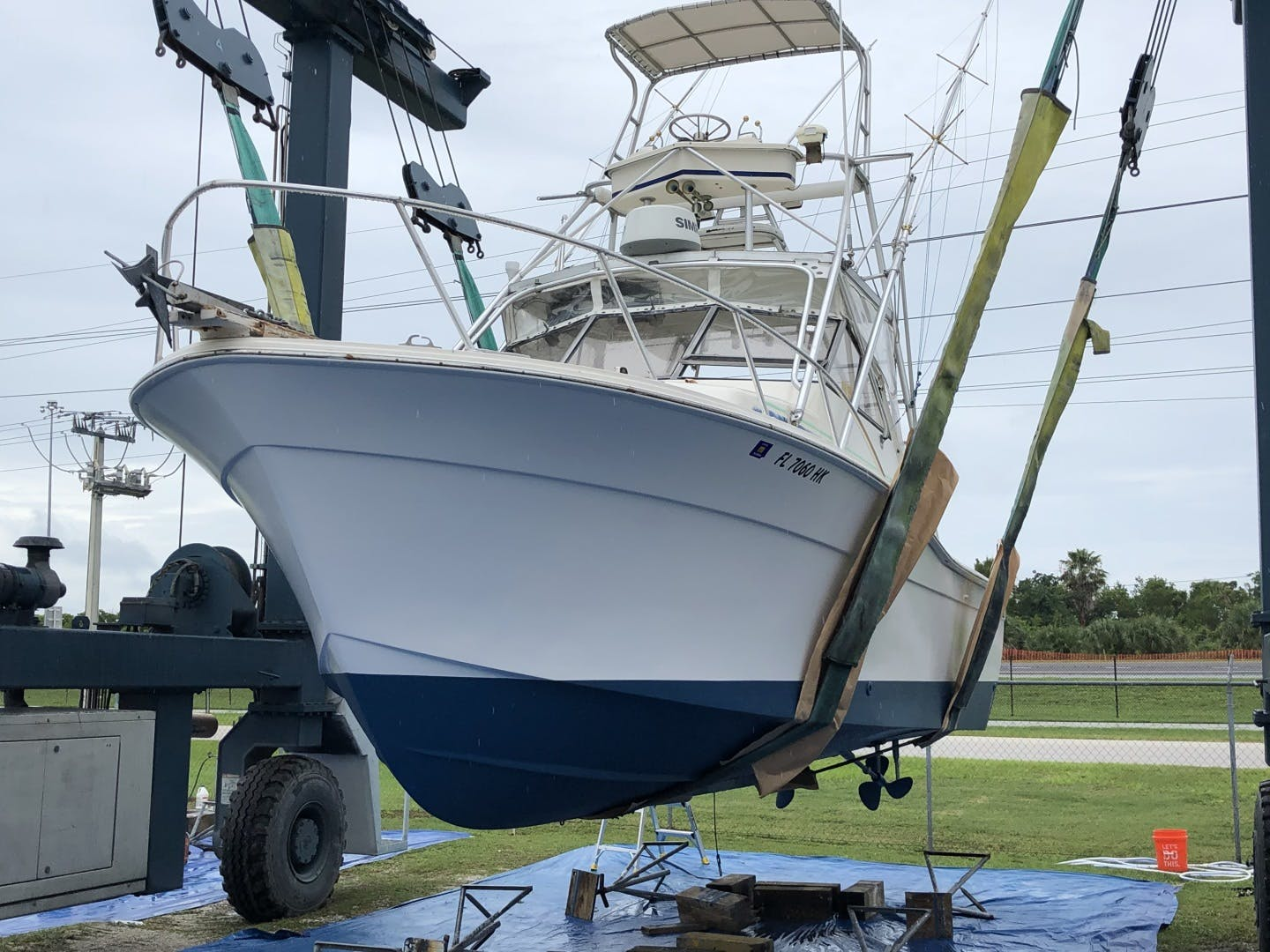 1987 Topaz 29' Express Sportfish Main Squeeze | Picture 1 of 14