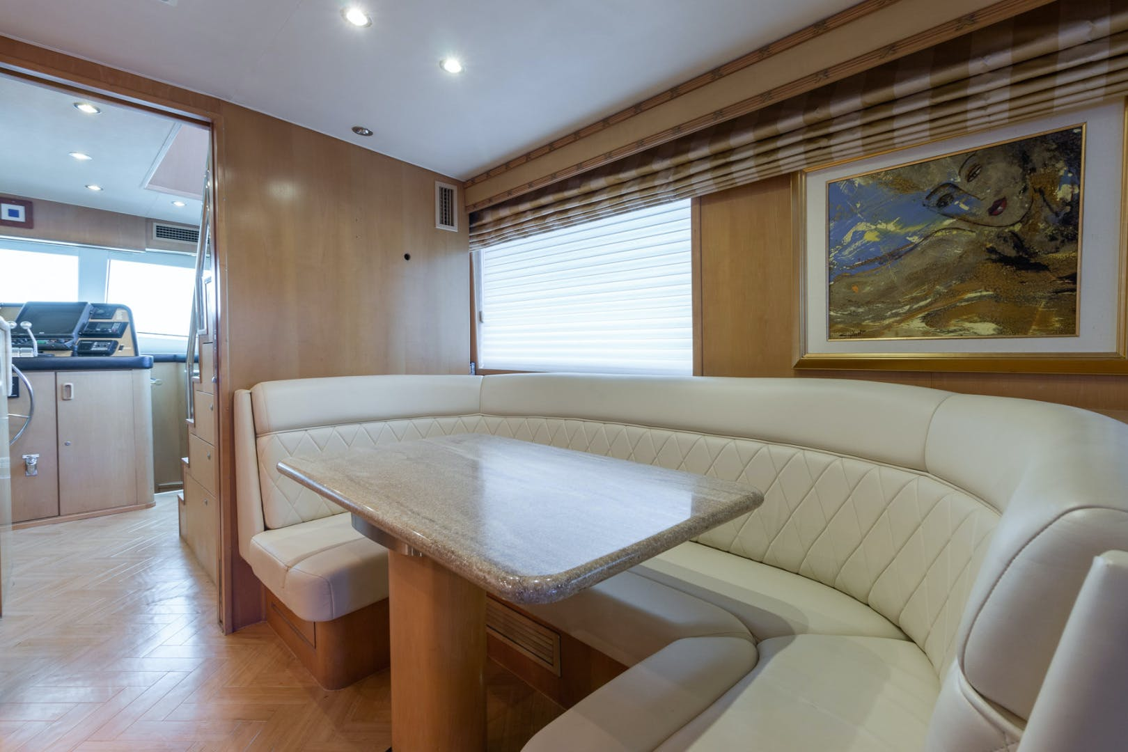 1998 Hatteras 74' Sport Deck No Name | Picture 5 of 72