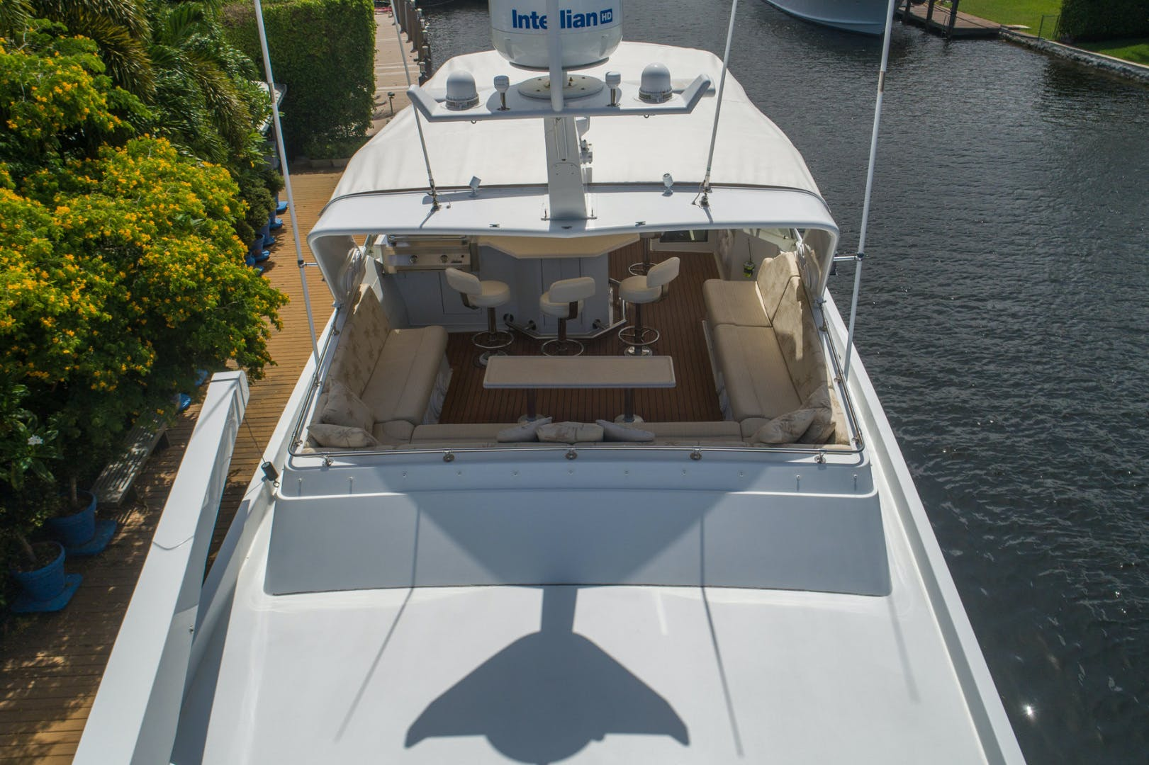 1998 Hatteras 74' Sport Deck No Name | Picture 8 of 72