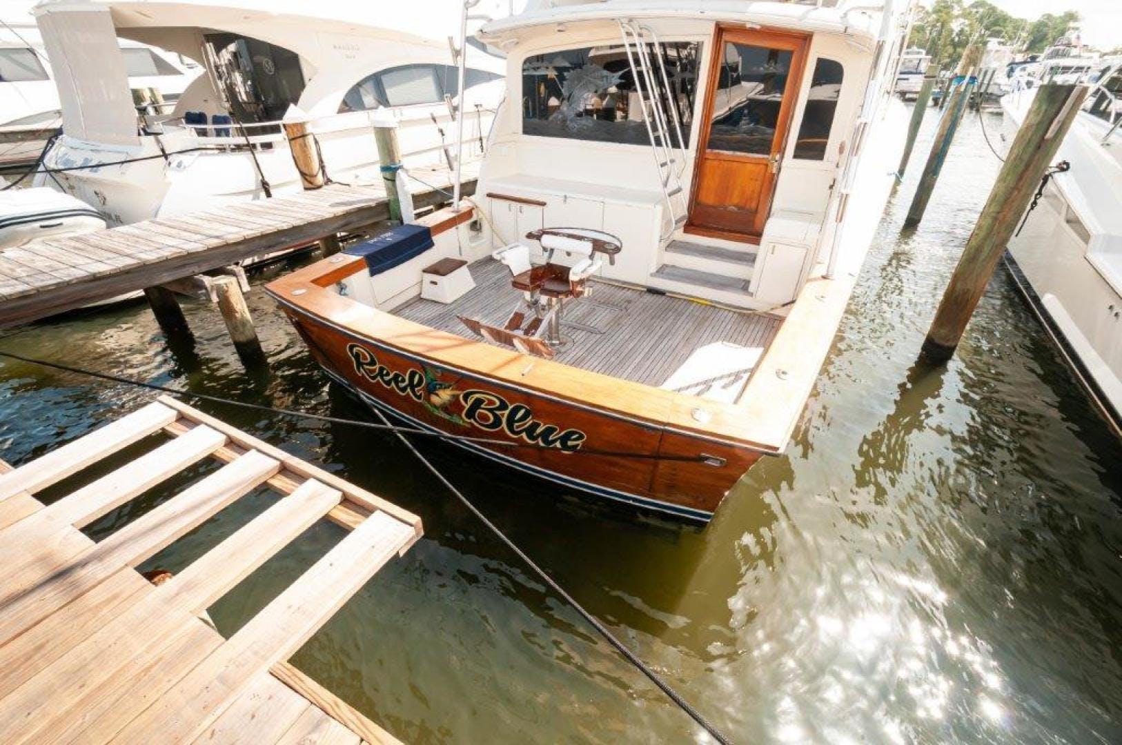 1989 Ocean Yachts 63' 63 Super Sport Reel Blue | Picture 6 of 57
