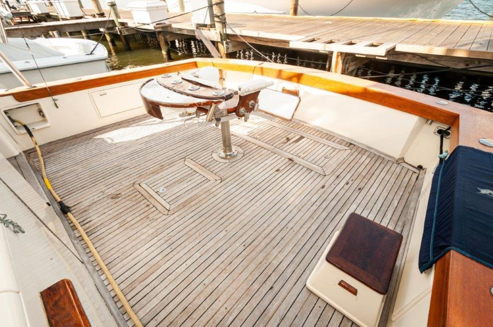 1989 Ocean Yachts 63' 63 Super Sport Reel Blue | Picture 8 of 57
