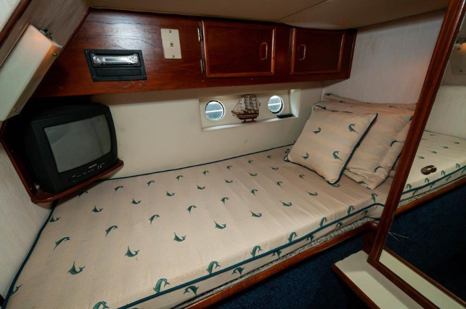1989 Ocean Yachts 63' 63 Super Sport Reel Blue | Picture 7 of 57