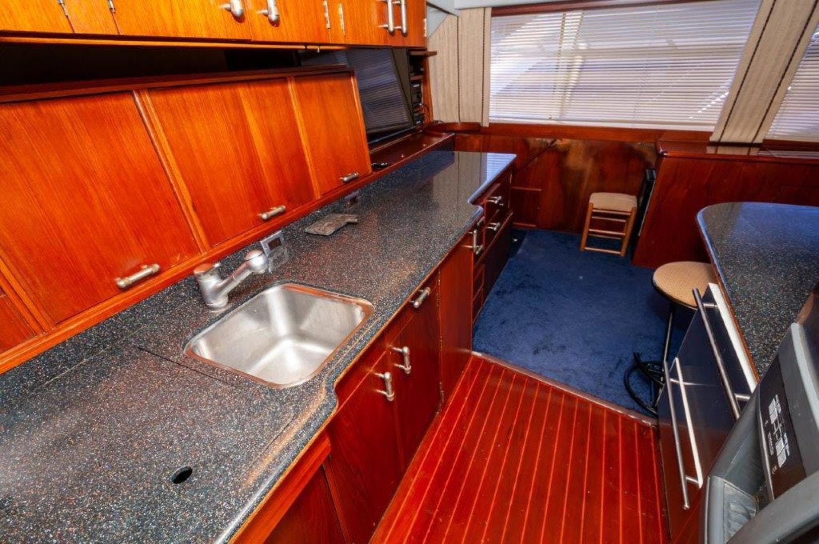 1989 Ocean Yachts 63' 63 Super Sport Reel Blue | Picture 1 of 57