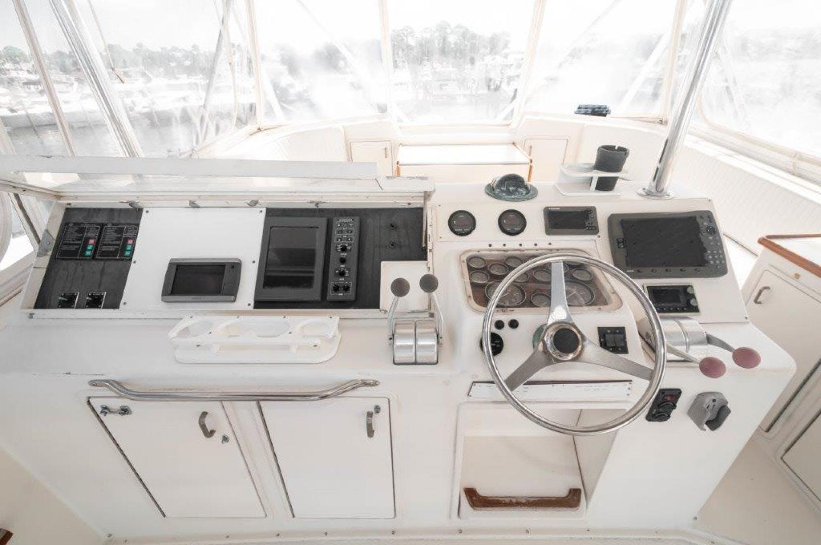 1989 Ocean Yachts 63' 63 Super Sport Reel Blue | Picture 3 of 57