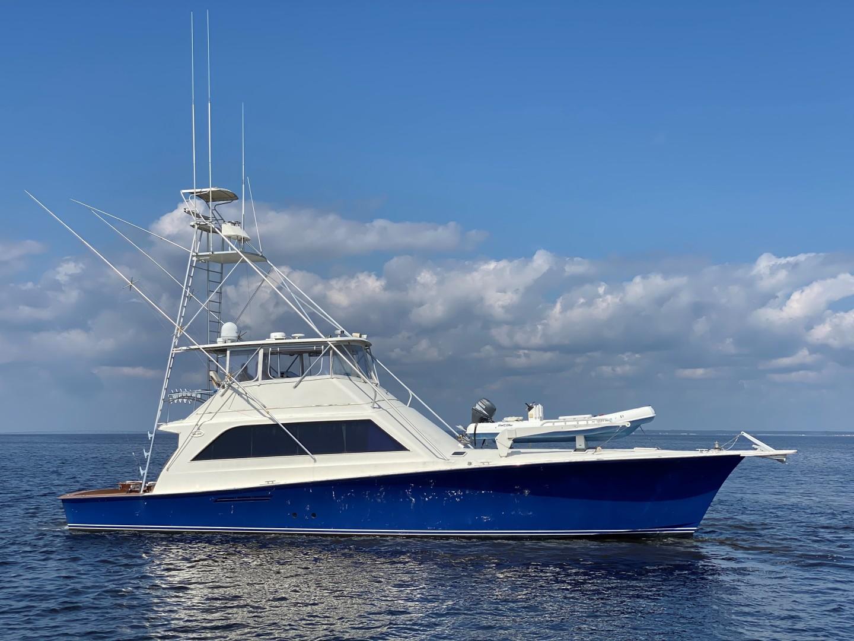 "1989 Ocean Yachts 63' 63 Super Sport ""Reel Blue"""