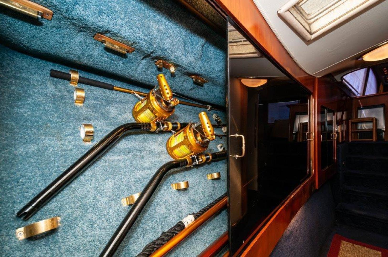 1989 Ocean Yachts 63' 63 Super Sport Reel Blue | Picture 2 of 57