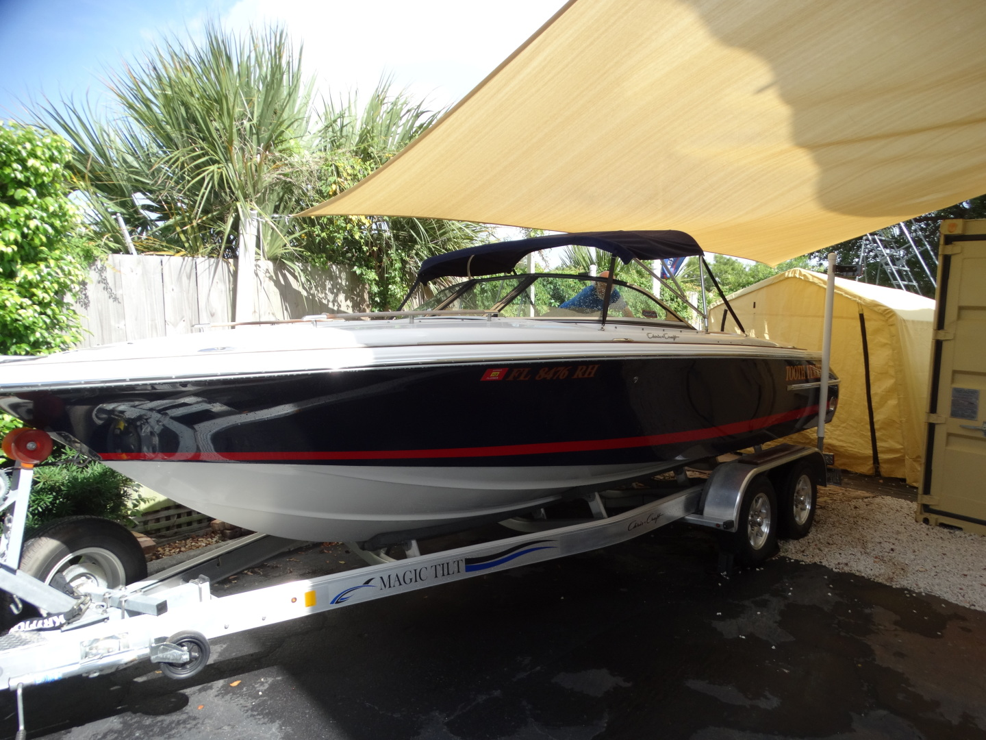 """2007 Chris-Craft 22' Lancer 22 Rumble """"Tooth Ferry"""""""
