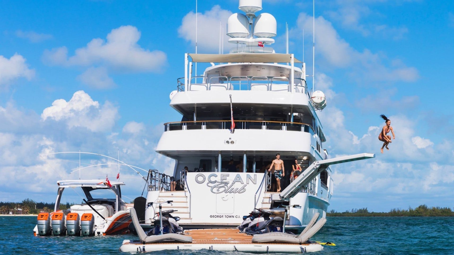 2009 Trinity Yachts 164' Tri-Deck Motor Yacht OCEAN CLUB | Picture 3 of 35