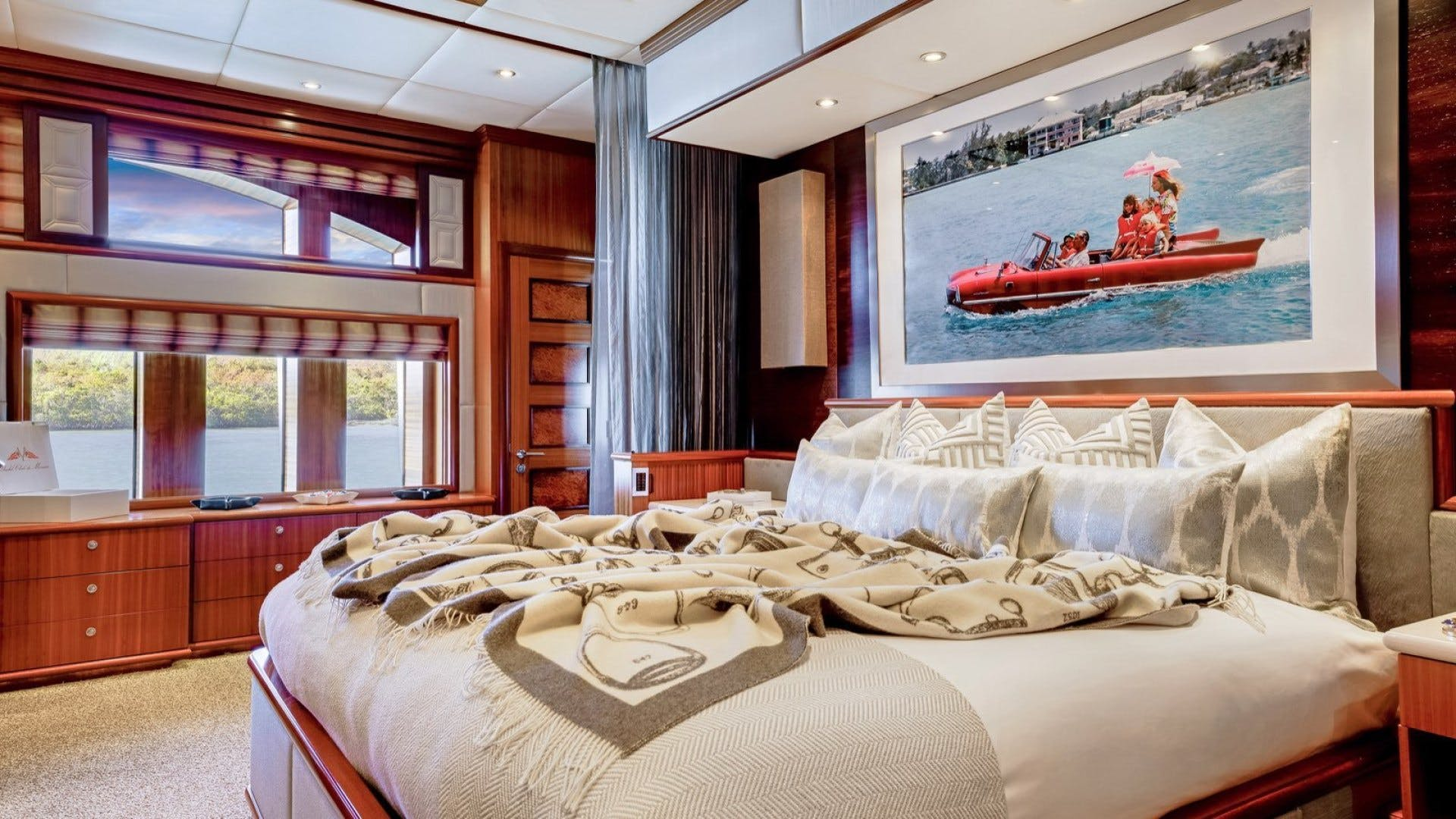 2009 Trinity Yachts 164' Tri-Deck Motor Yacht OCEAN CLUB | Picture 1 of 35