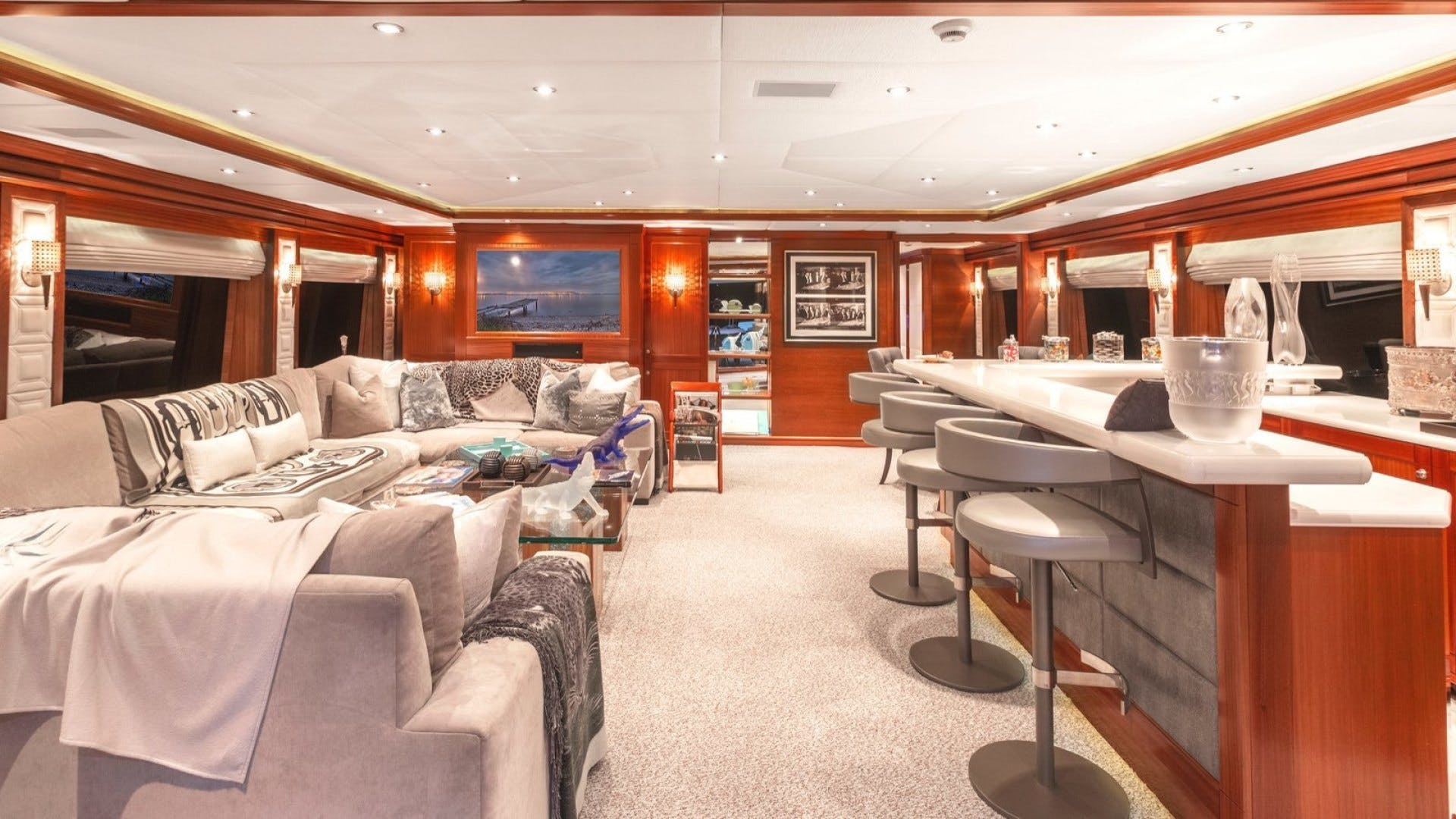 2009 Trinity Yachts 164' Tri-Deck Motor Yacht OCEAN CLUB | Picture 7 of 35