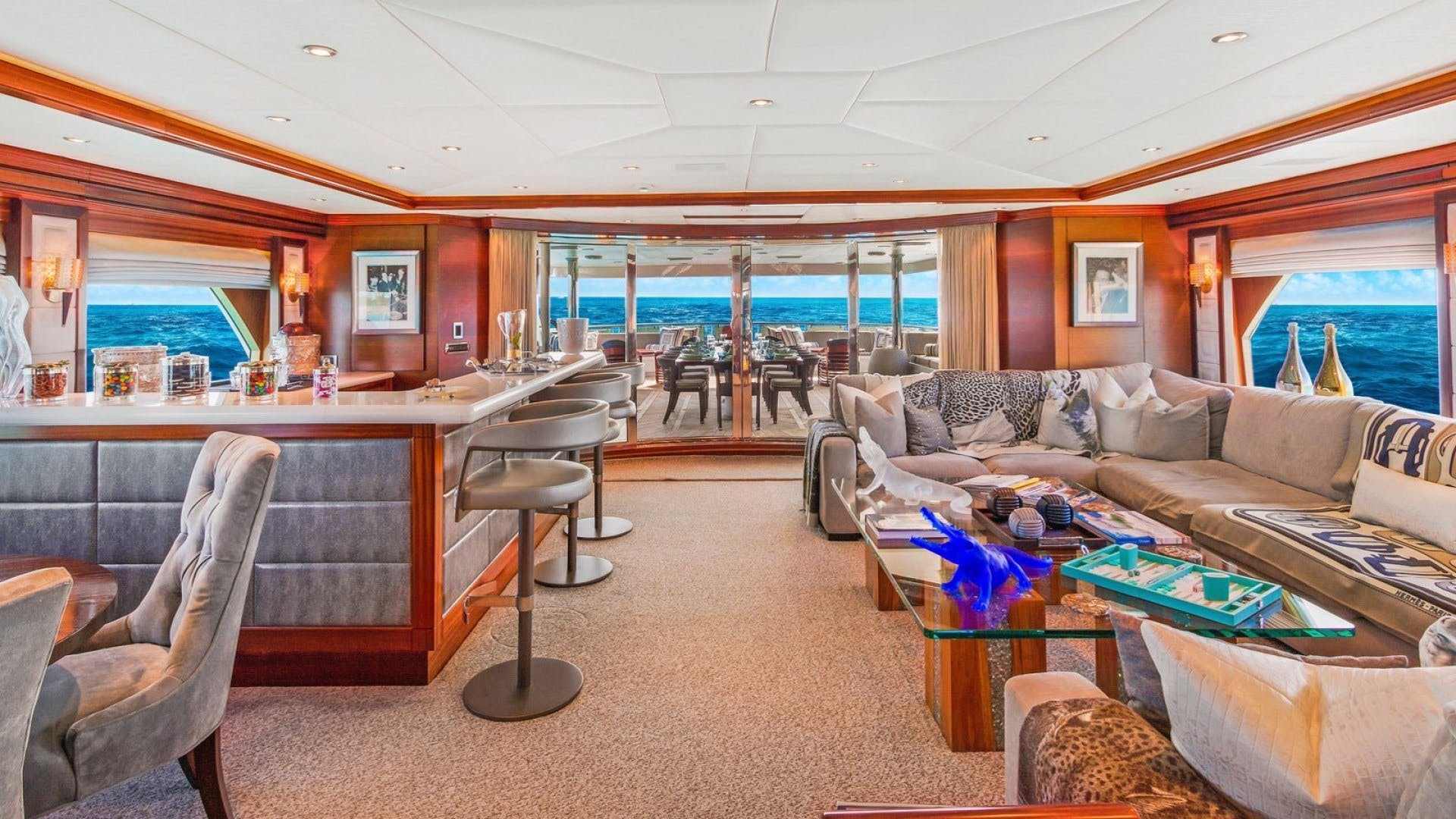 2009 Trinity Yachts 164' Tri-Deck Motor Yacht OCEAN CLUB | Picture 6 of 35