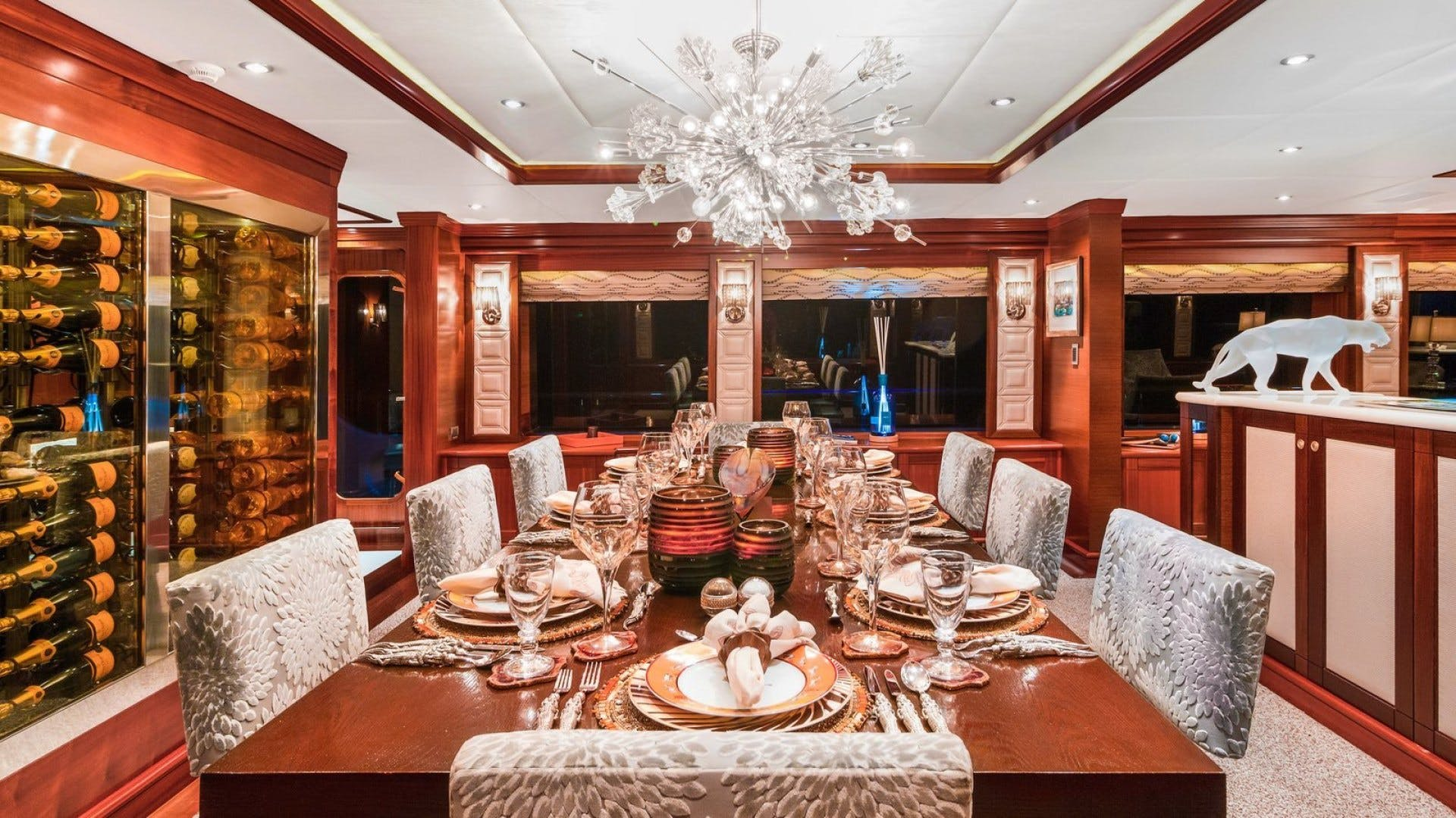 2009 Trinity Yachts 164' Tri-Deck Motor Yacht OCEAN CLUB | Picture 4 of 35