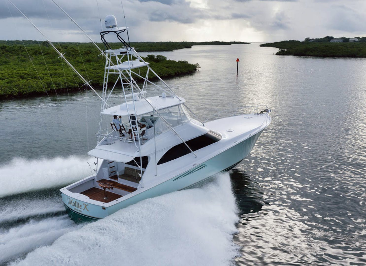 2009 Viking 60' Convertible MOLLIE K | Picture 6 of 57