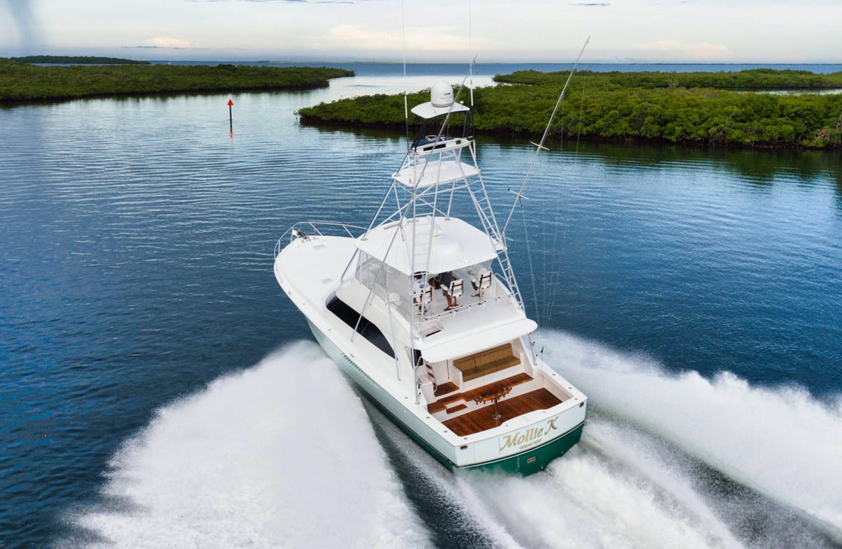 2009 Viking 60' Convertible MOLLIE K | Picture 7 of 57