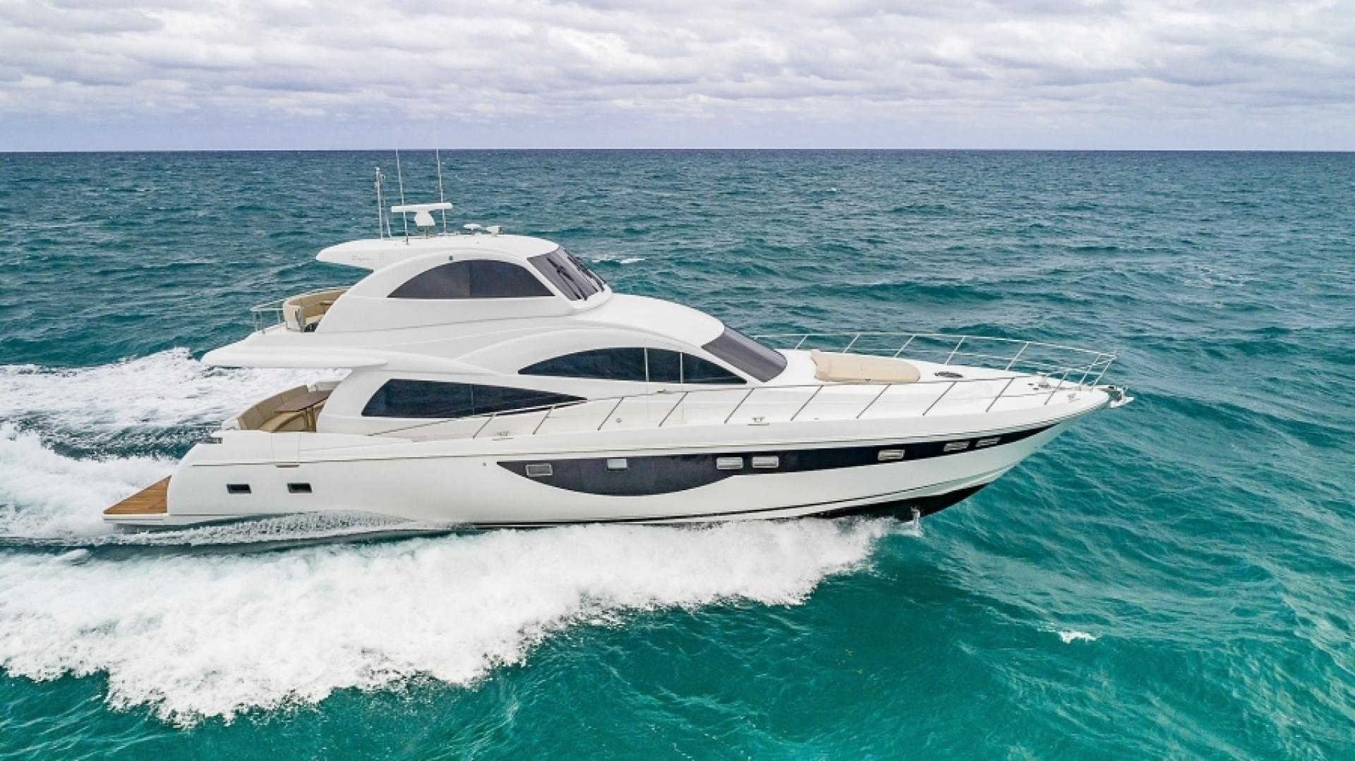 2021 Dyna Yachts 68' 68 Skylounge