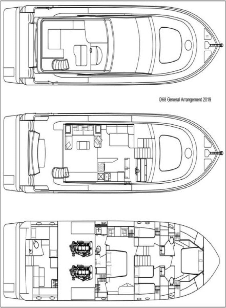 2021 Dyna Yachts 68' 68 Skylounge  | Picture 5 of 46