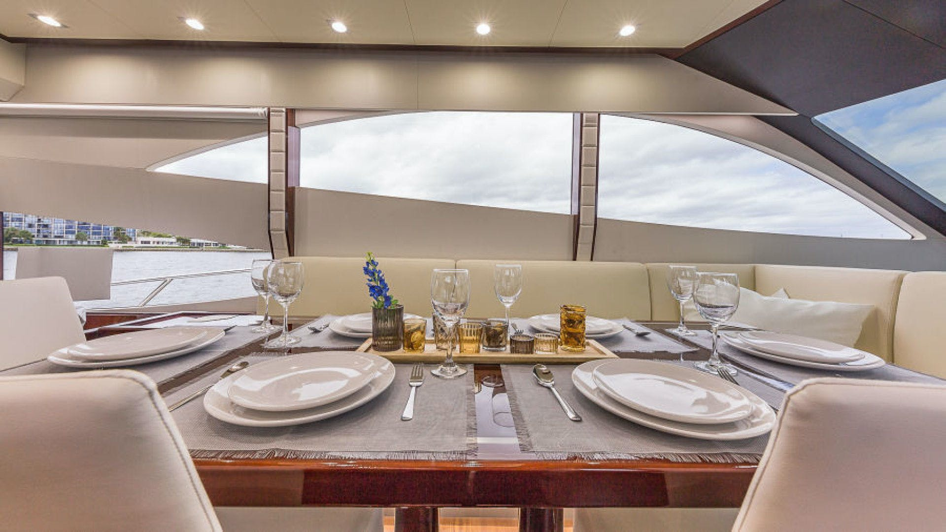 2021 Dyna Yachts 68' 68 Skylounge    Picture 3 of 46