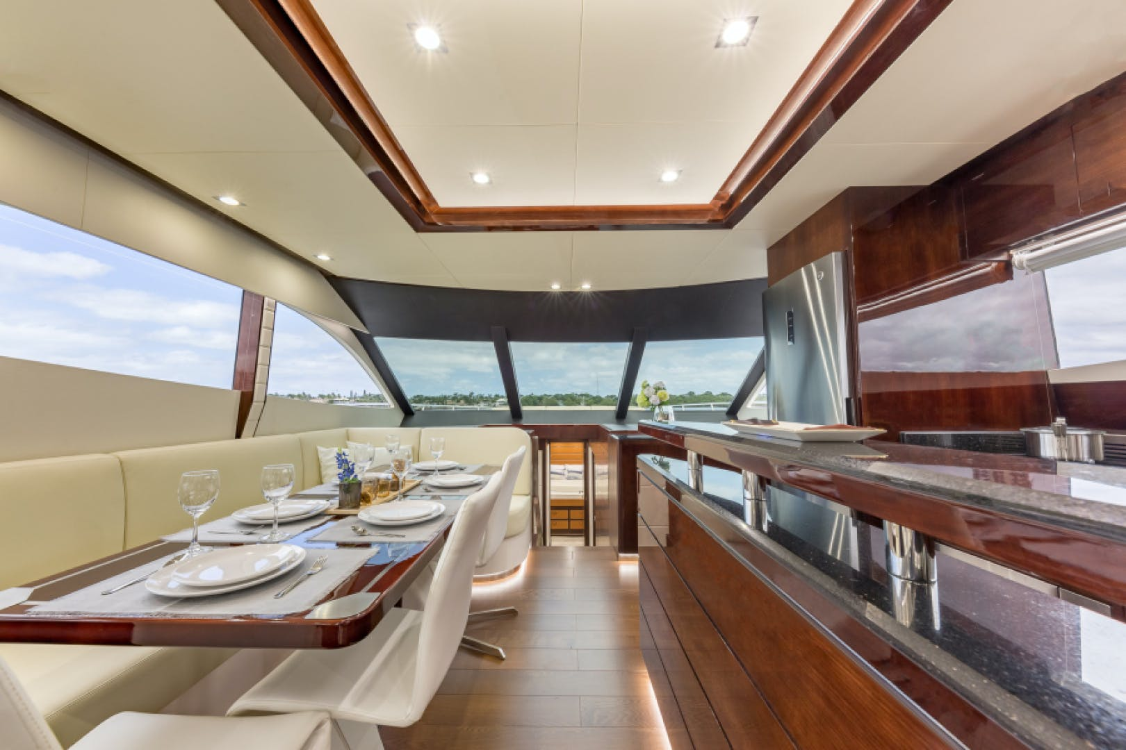 2021 Dyna Yachts 68' 68 Skylounge    Picture 2 of 46