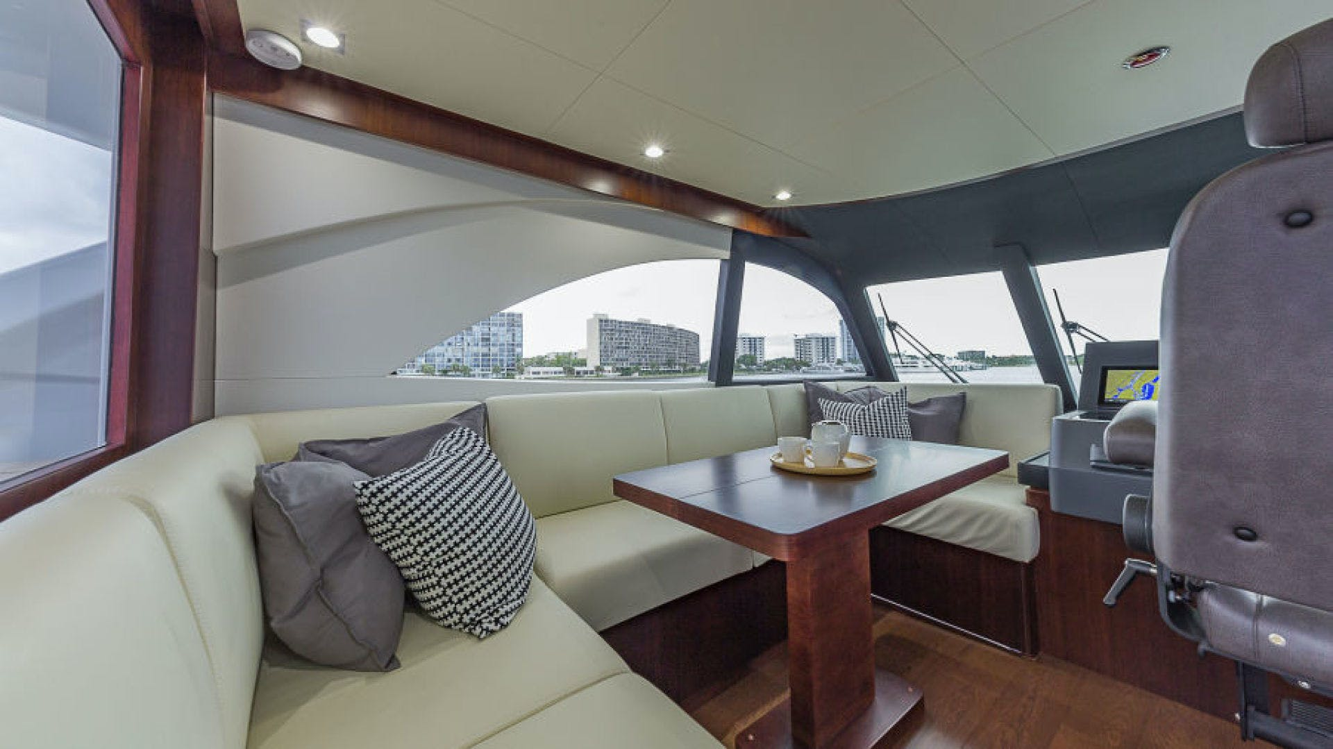2021 Dyna Yachts 68' 68 Skylounge  | Picture 1 of 46