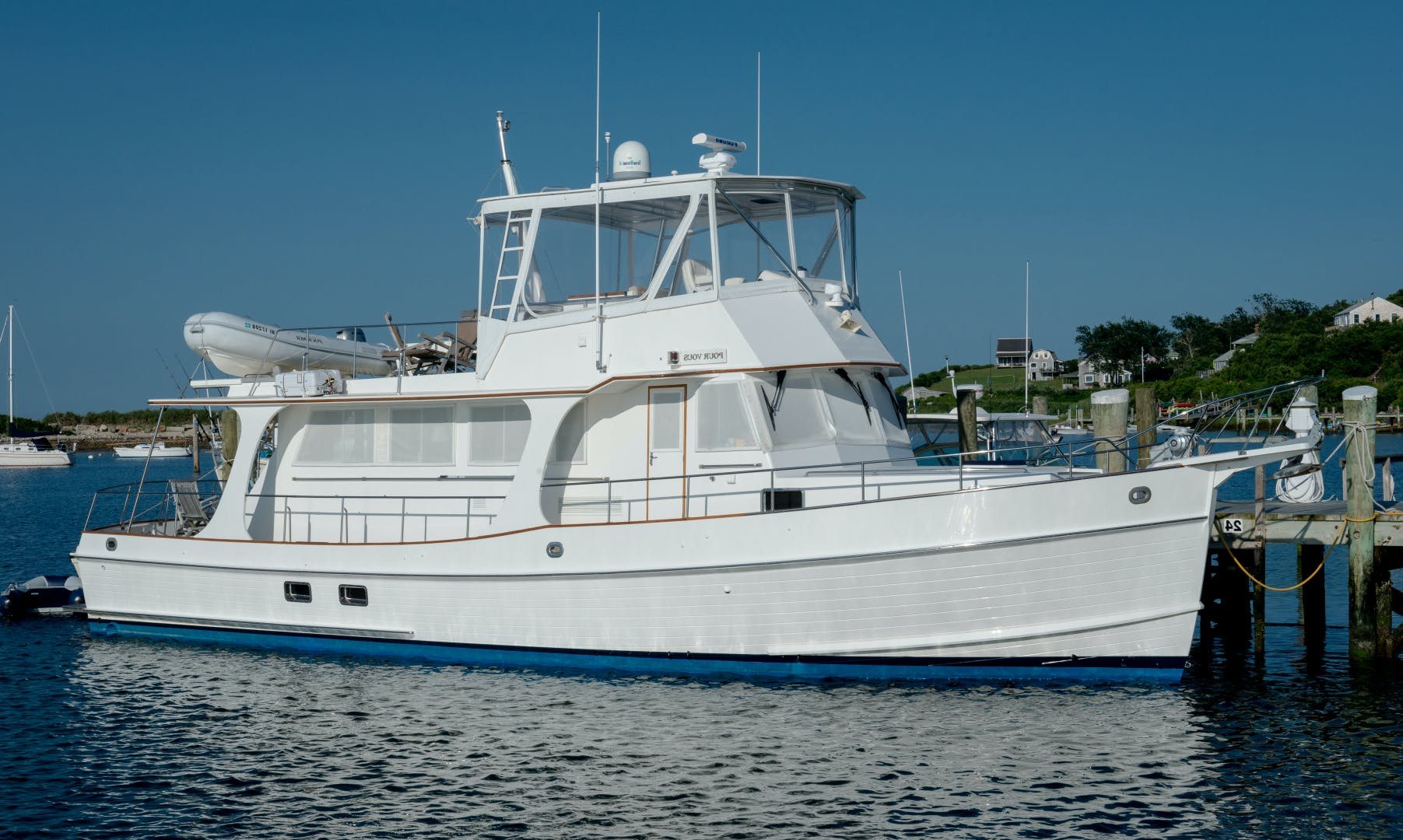 2001 Grand Banks 52' Europa 52 Pour Vous   Picture 1 of 33