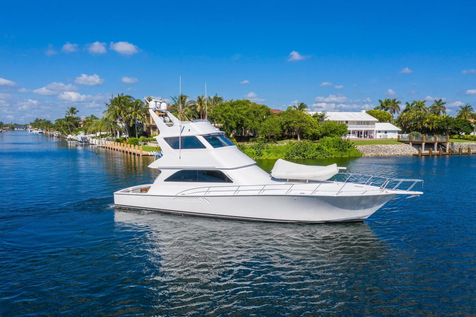 2002 Viking 61' Enclosed Bridge Convertible GOOD TO GO | Picture 5 of 96
