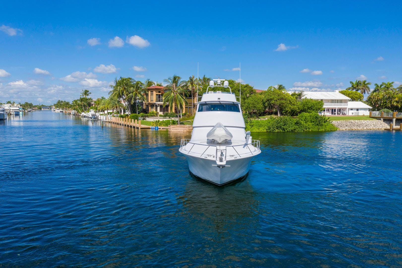 2002 Viking 61' Enclosed Bridge Convertible GOOD TO GO | Picture 3 of 96