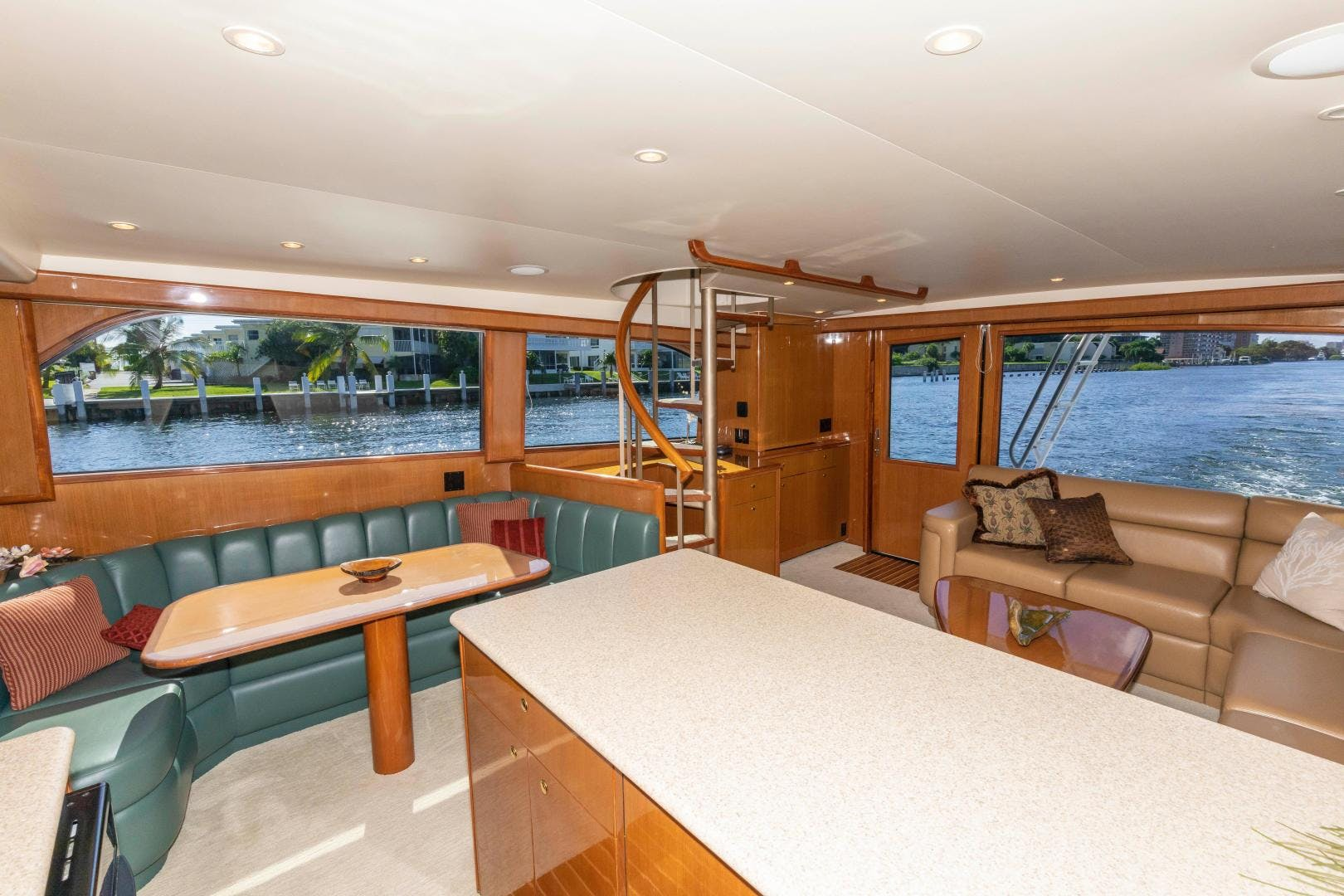 2002 Viking 61' Enclosed Bridge Convertible GOOD TO GO | Picture 6 of 96
