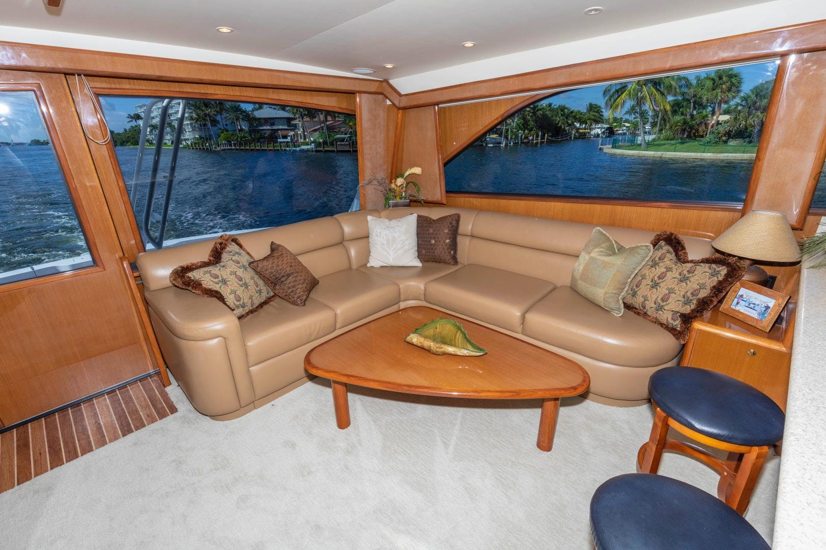 2002 Viking 61' Enclosed Bridge Convertible GOOD TO GO | Picture 2 of 96