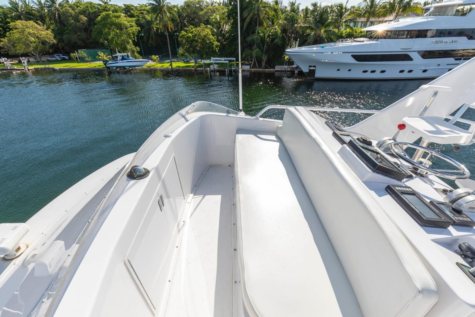 2002 Viking 61' Enclosed Bridge Convertible GOOD TO GO | Picture 8 of 96