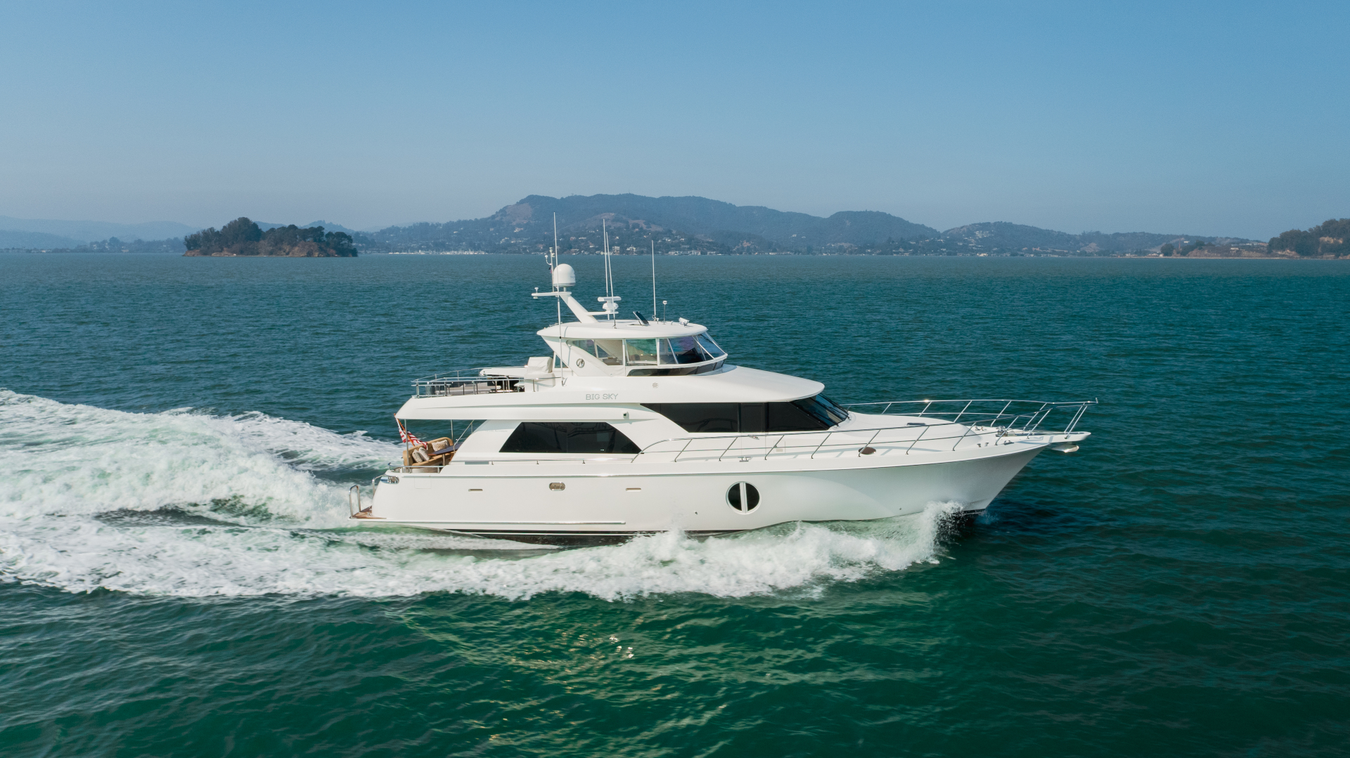 "2010 Ocean Alexander 68' Pilothouse ""BIG SKY"""