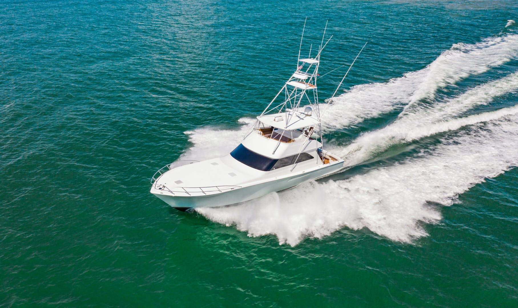 2001 Viking 61' 61 Convertible Mighty Mouse | Picture 7 of 104