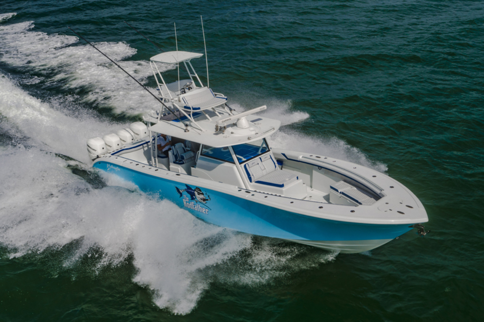 42' Yellowfin 2019 42 Offshore The Rodfather