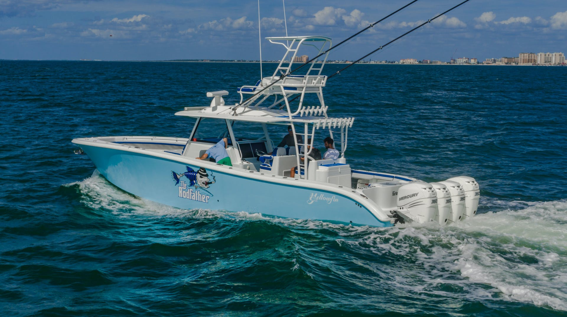 2019 Yellowfin 42' 42 Offshore The Rodfather | Picture 8 of 62