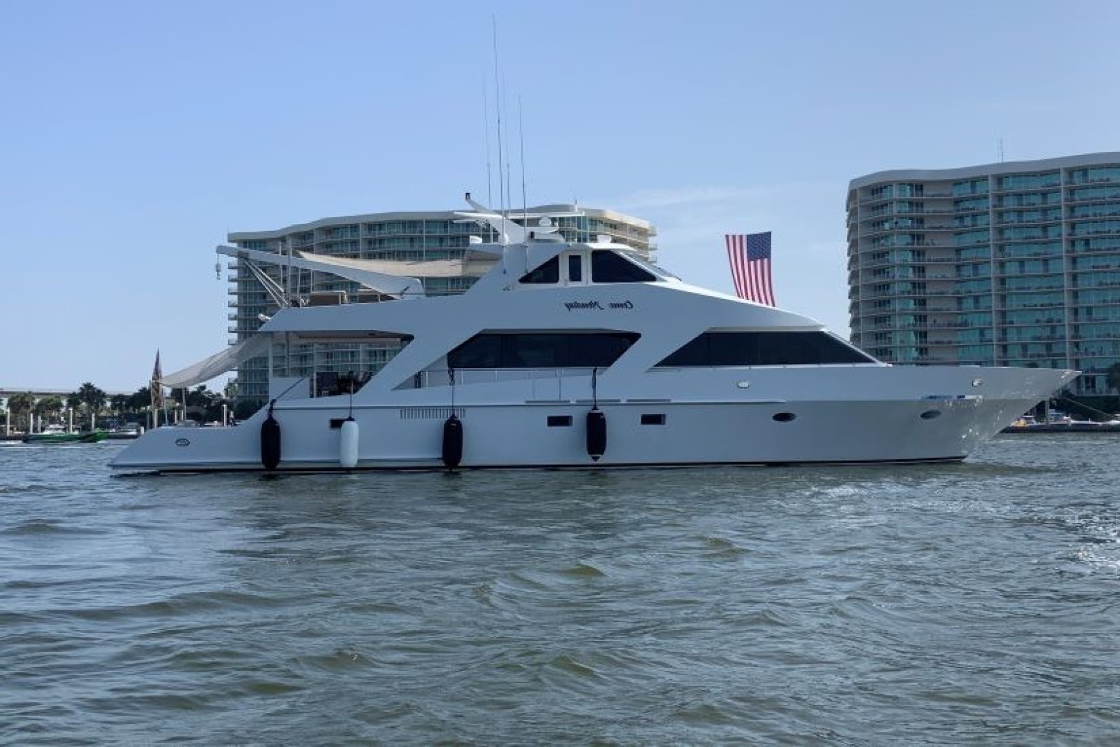 "2003 Custom 82' 82 Motor Yacht ""Come Monday"""