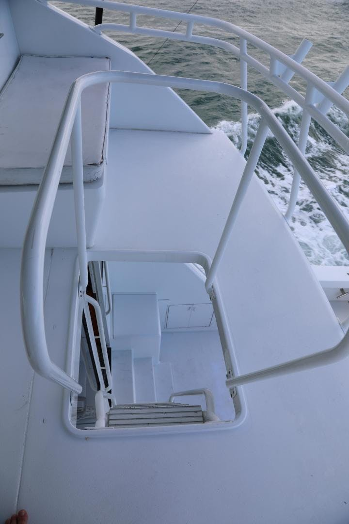 1997 Viking 72' Enclosed Bridge  | Picture 6 of 36