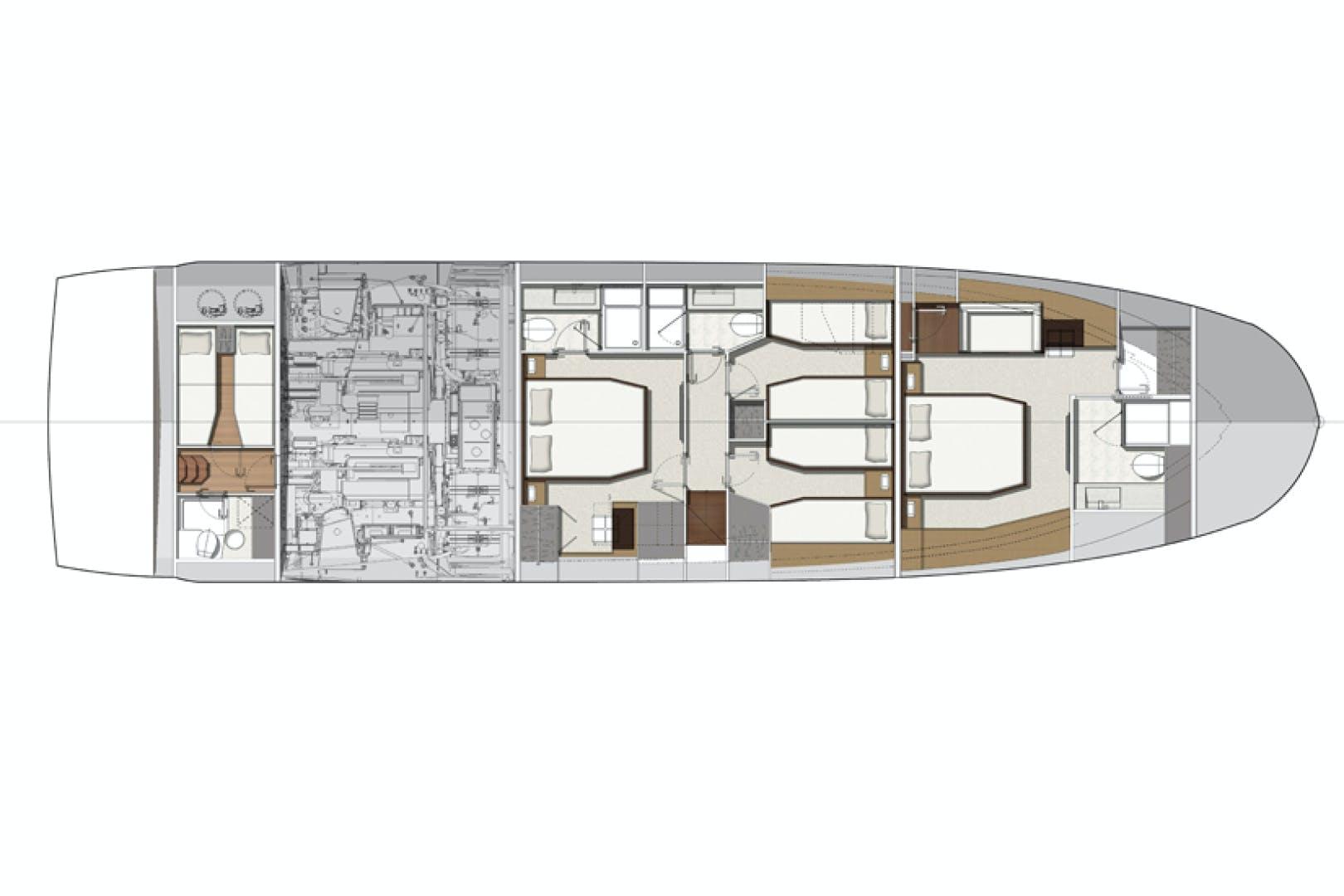 2018 Prestige 68' 680 Flybridge Seduction | Picture 8 of 82