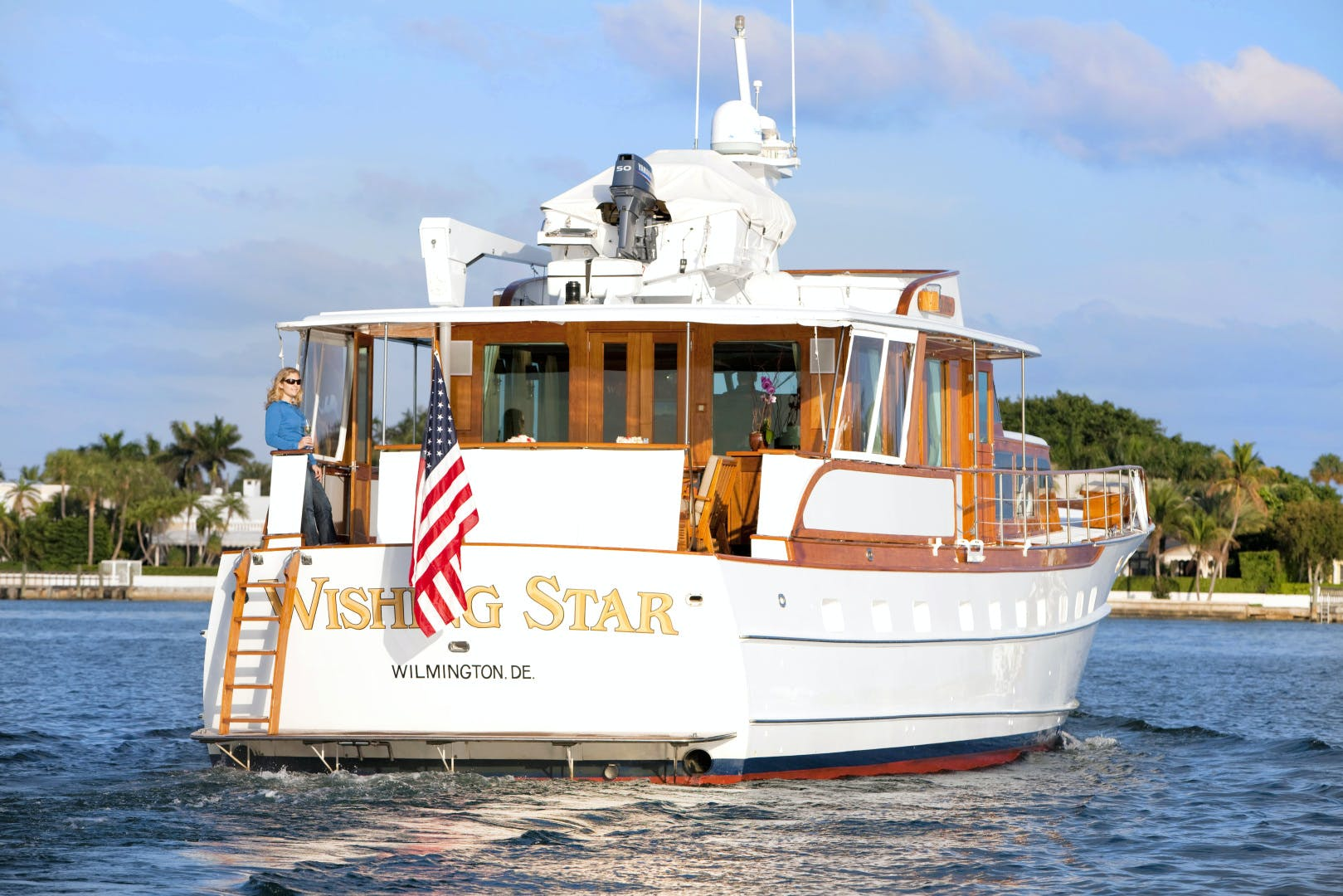 1963 Trumpy 84' Classic WISHING STAR | Picture 6 of 23