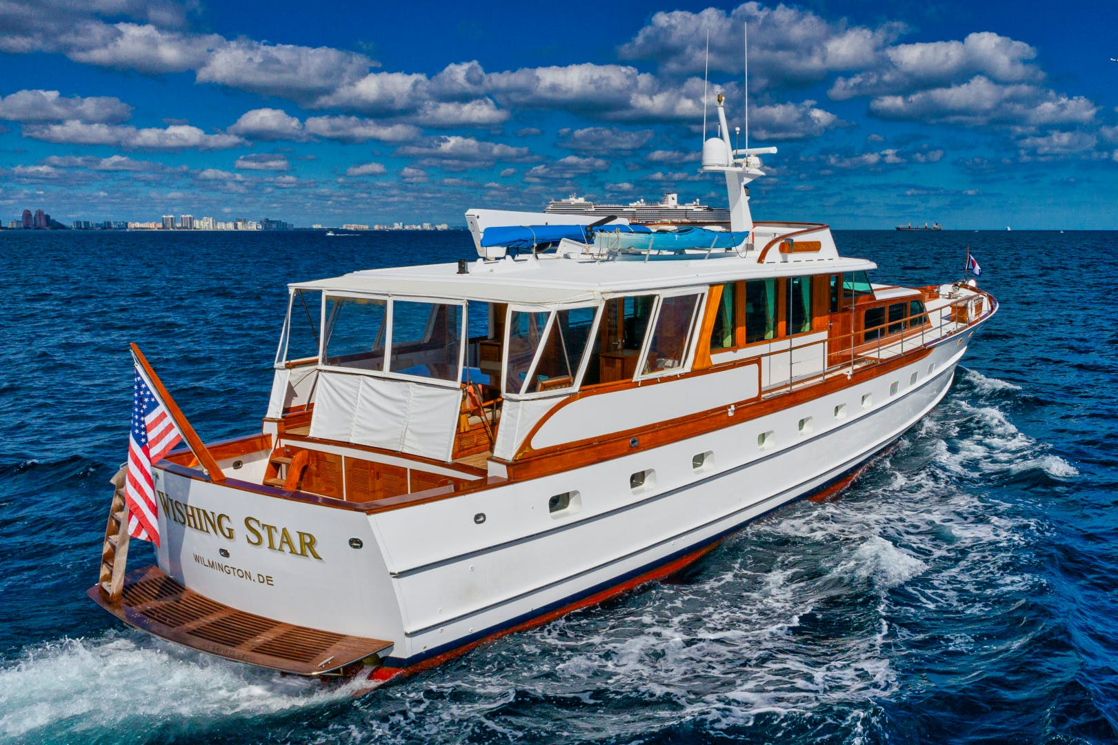 1963 Trumpy 84' Classic WISHING STAR | Picture 1 of 26