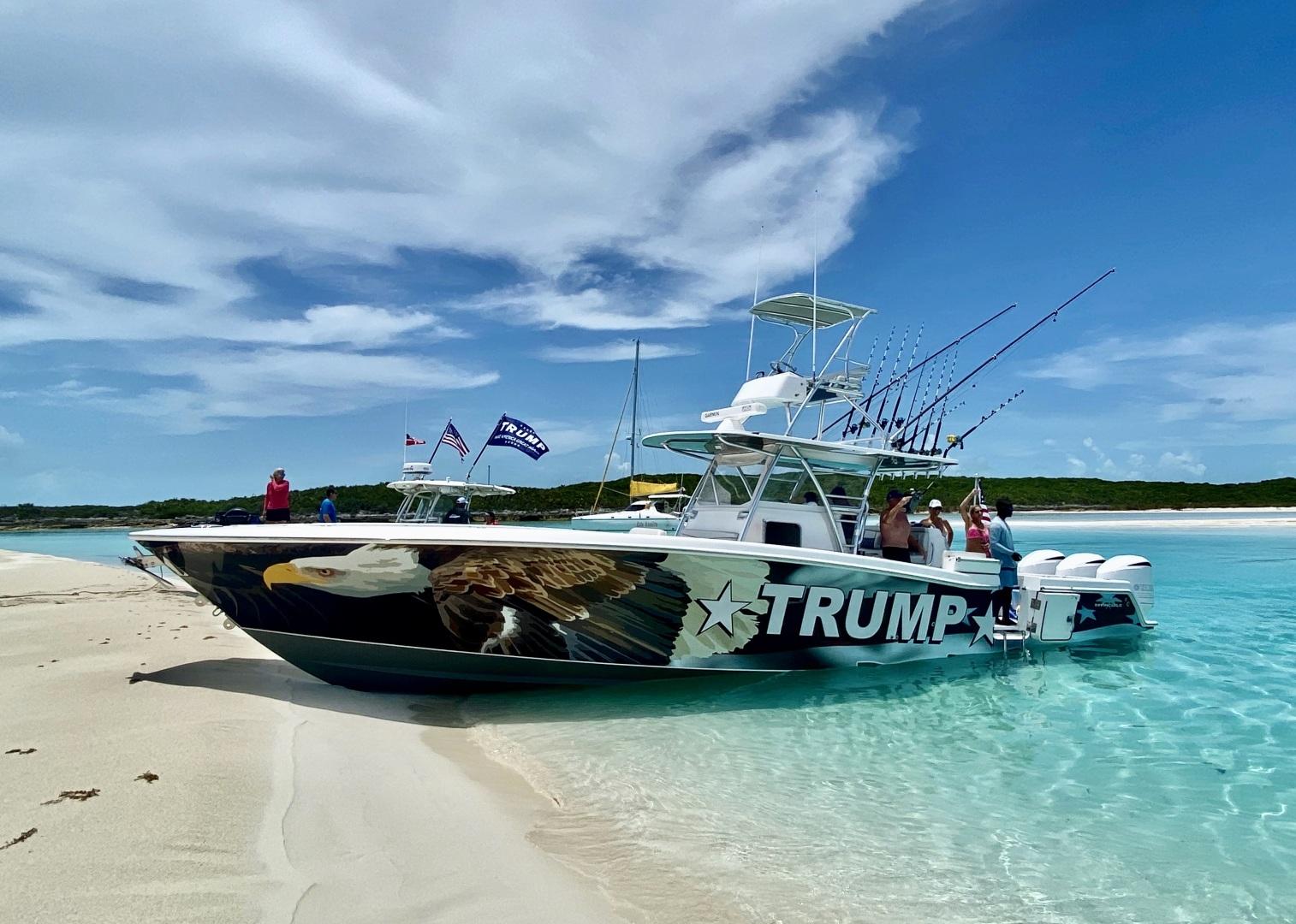 42' Invincible 2017 Open Fisherman Trump
