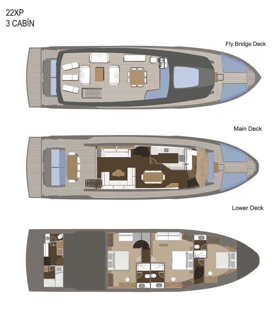 2021 Numarine 72' 22XP 22XP HULL 3 | Picture 1 of 10