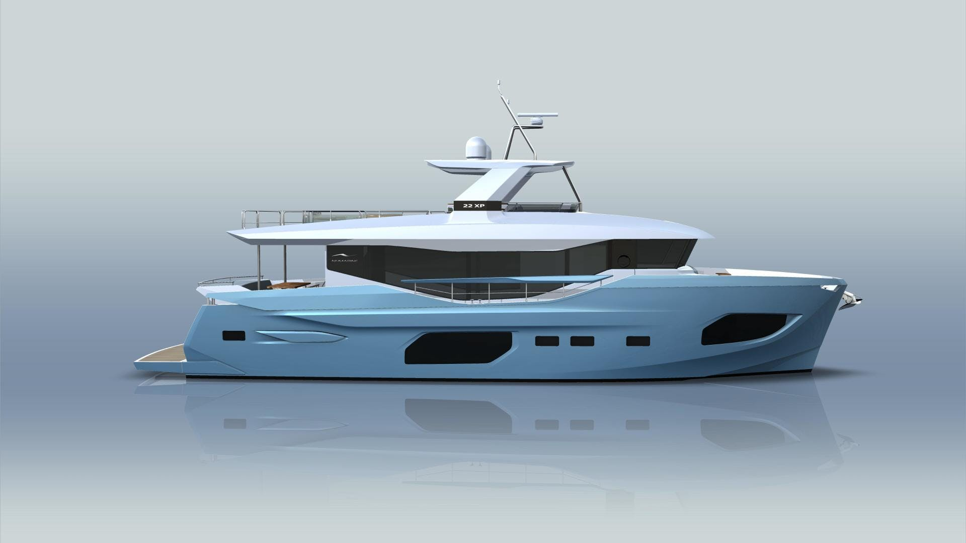 2021 Numarine 72' 22XP 22XP HULL 3 | Picture 6 of 10