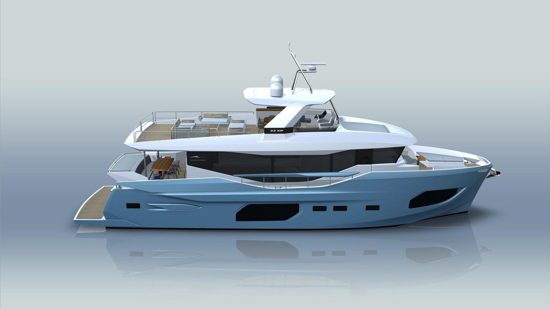 2021 Numarine 72' 22XP 22XP HULL 3 | Picture 7 of 10