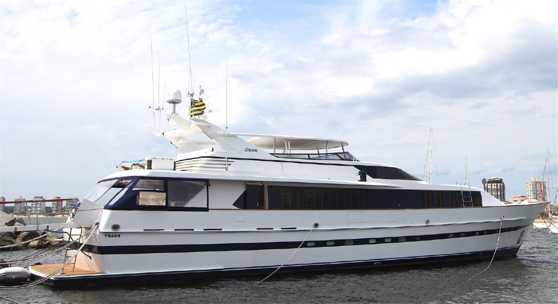 1987 Lurssen 110' FALCO MOTOR YACHT  | Picture 1 of 22