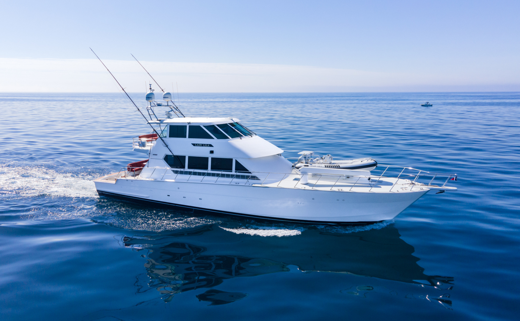 "1995 Hatteras 82' Convertible ""LADY LILA"""