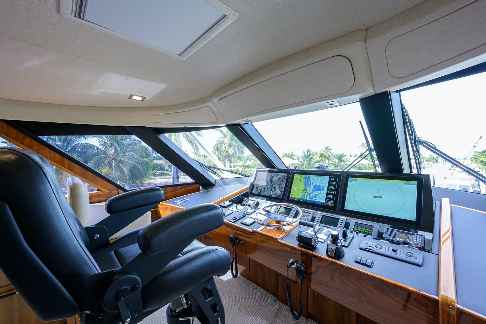 2016 Viking 80' Enclosed Bridge LIVE OAK ONE | Picture 8 of 60