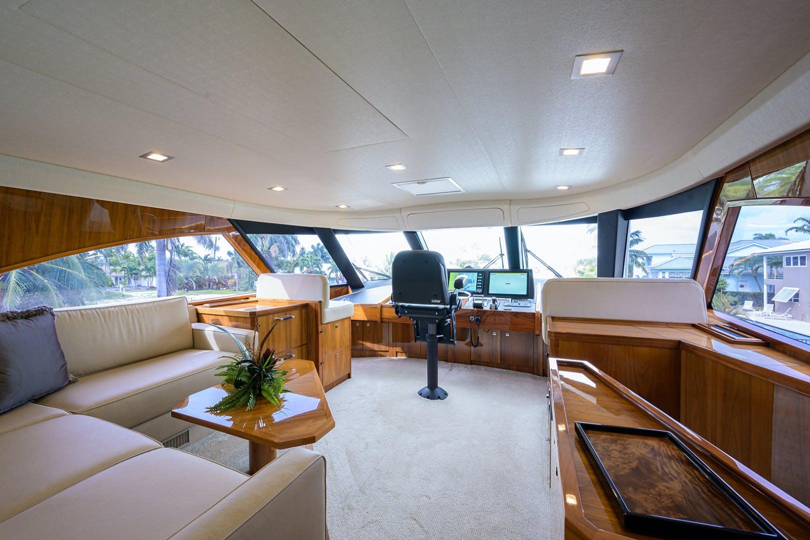 2016 Viking 80' Enclosed Bridge LIVE OAK ONE | Picture 4 of 60