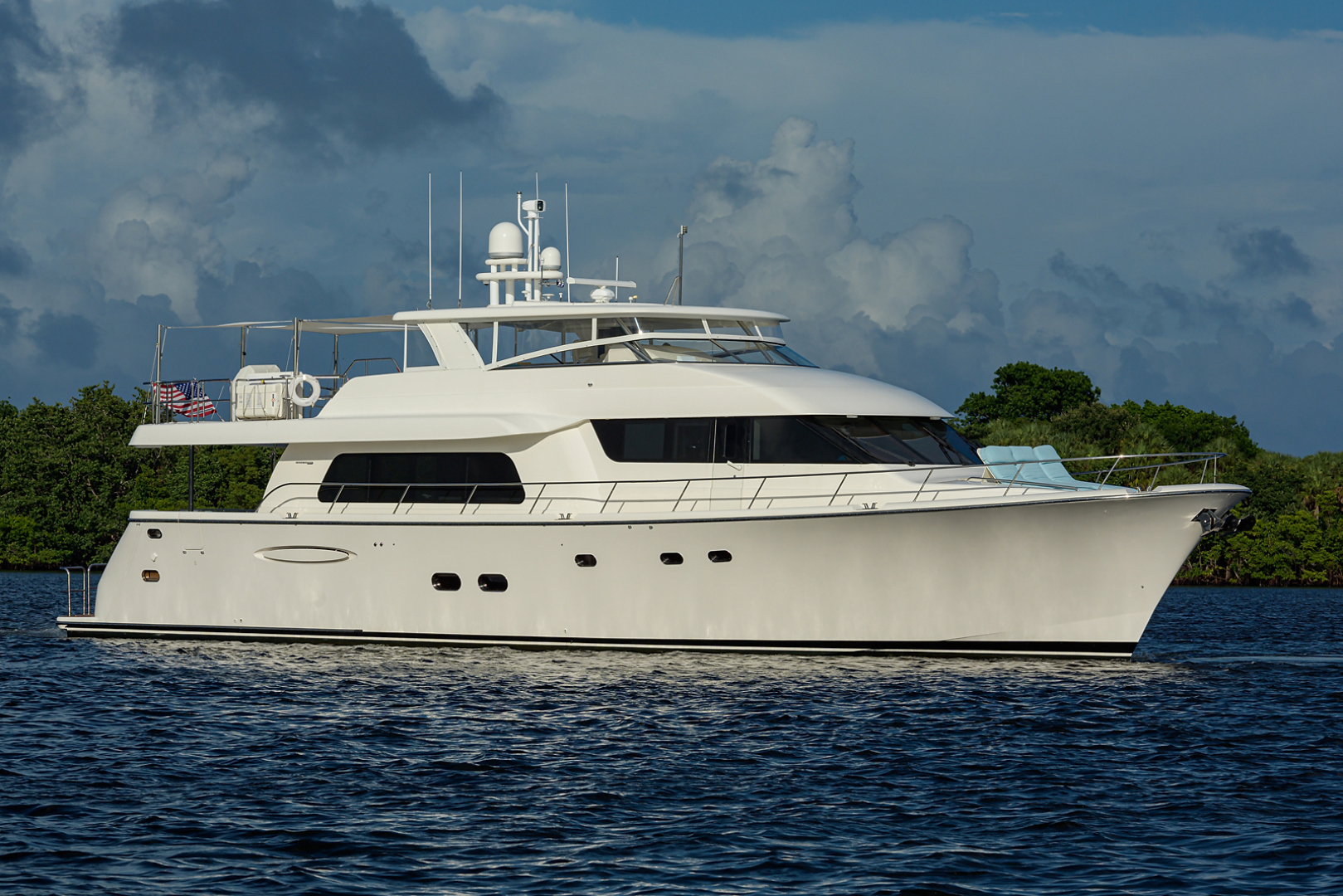 85' Pacific Mariner 2009 Motor Yacht Celebrate