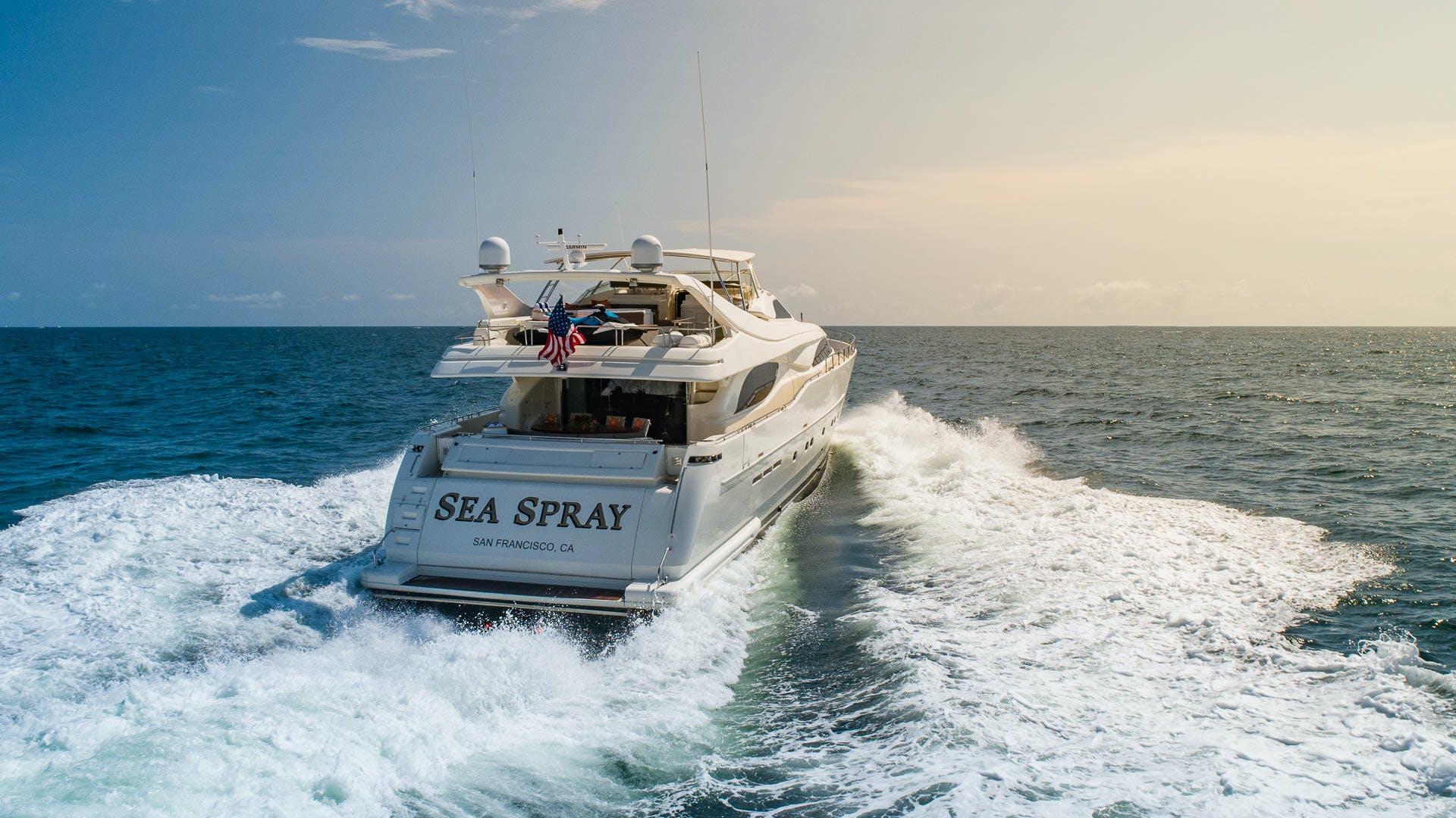 2001 Ferretti Yachts 94'  Sea Spray | Picture 1 of 41